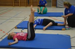 Stabi-Training in der Halle