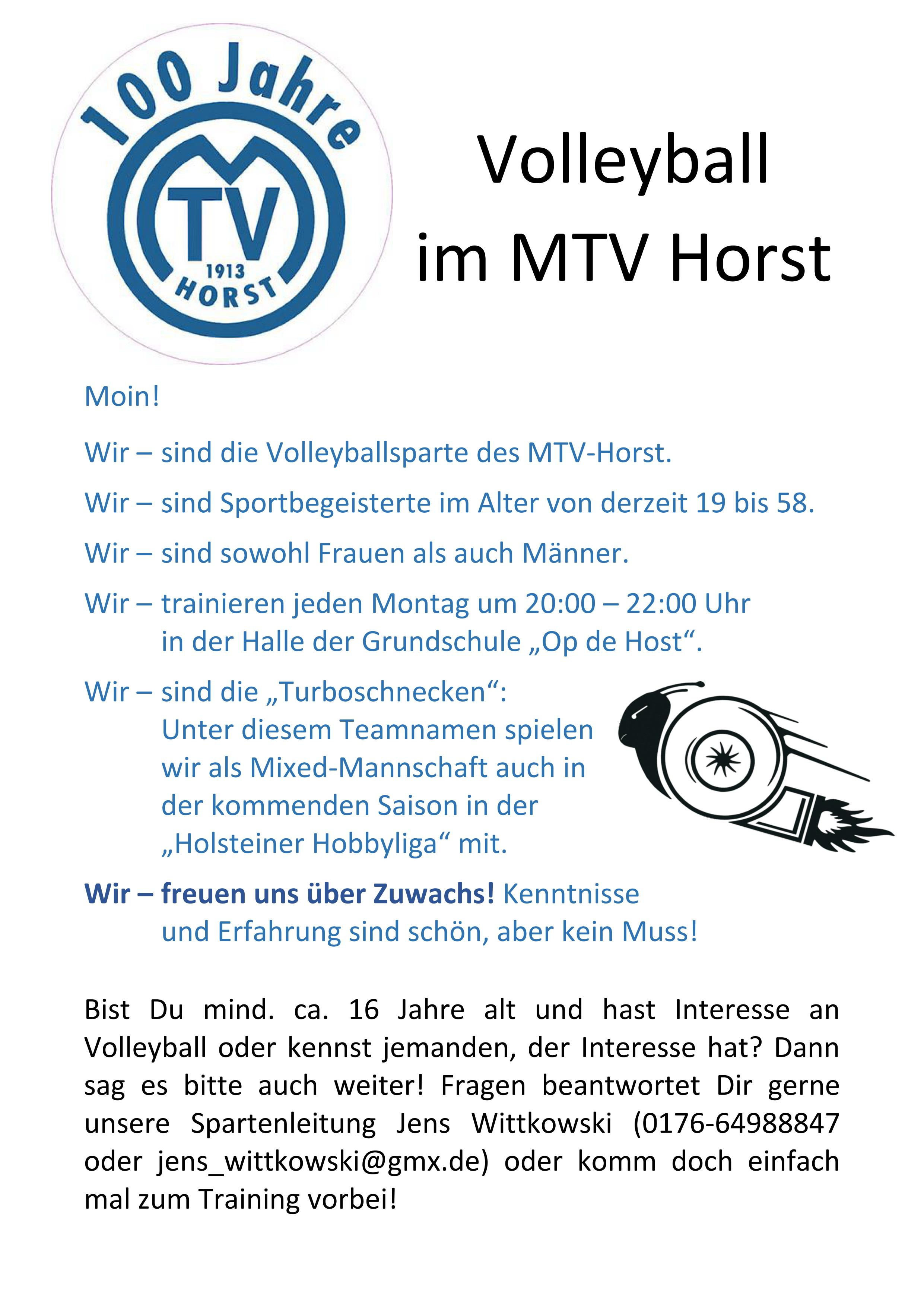 MTV Horst - Volleyball